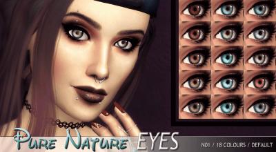 Глаза Pure Nature
