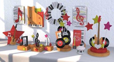 Музыкальный декор Music Star