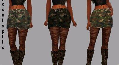 Апокалиптическая юбка Silvia