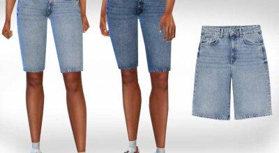 Женские джинсовые шорты Capri