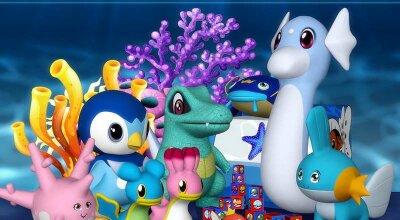 Набор игрушек Ocean