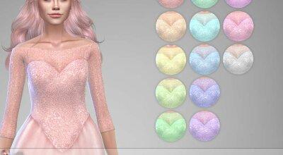 Блестящее платье Torina 1