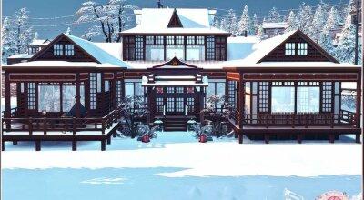 Японский домик Kiyomatsu