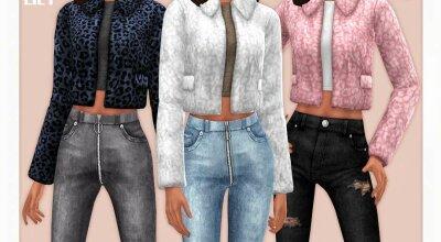 Куртка Faux Fur 05