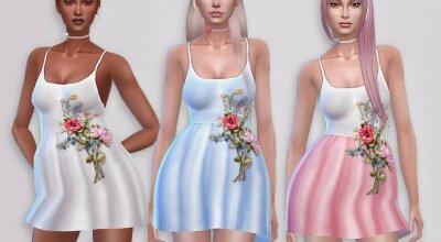 Цветастое платье La robe fleurie