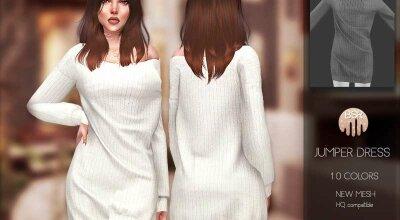 Платье-джемпер BD181