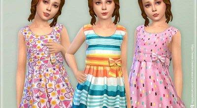 Платье для девочек P142
