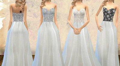 Свадебное Платье Без Бретелек