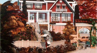 Домик Autumn Farmhouse