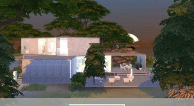 Уединённый дом Modern Lookout