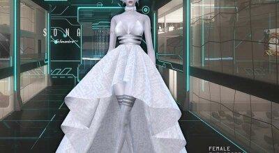 Футуристическое платье SONA