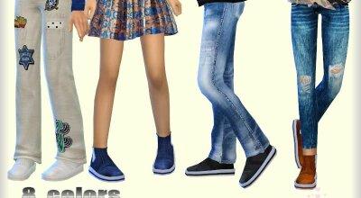 Детские ботинки 01