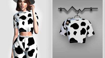Топик Cow BD400