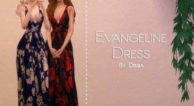 Платье Evangeline