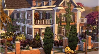 Осенний дом Autumn Brick