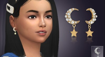 Серьги для детей Fancy Moon