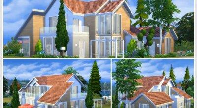 Современный дом Elyssa