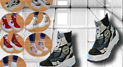 Реколор ботинок Suzu
