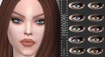 Цвета глаз Z03