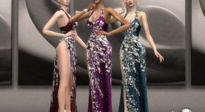 Длинное платье Quelinda