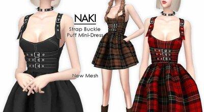 Мини платье NAKI