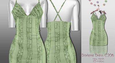 Платье Darlene C206