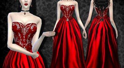 Платье Dracula