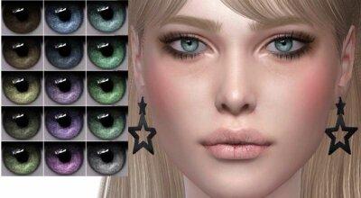Цвета глаз N98
