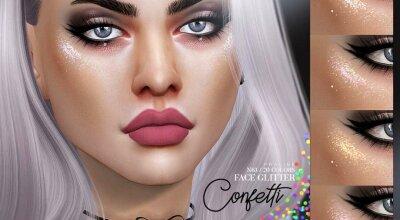 Блеск Confetti N63