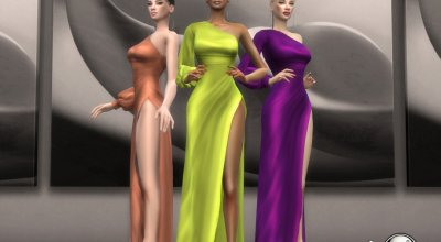 Длинное платье Angelanca
