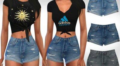 Джинсовые шорты Summer Style