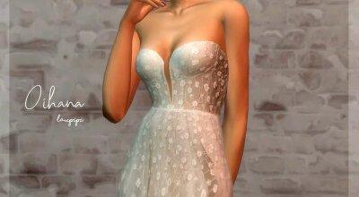 Платье Oihana