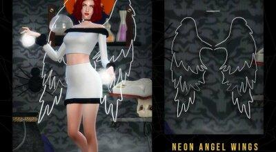 Крылья Neon Angel