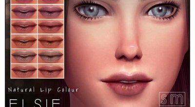 Естественный цвет губ - Elsie