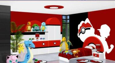 Детская комната Pokemon