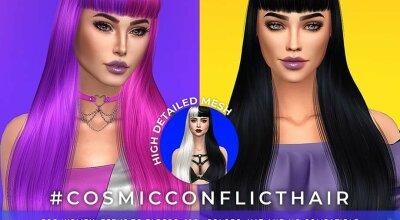 Волосы Cosmic Conflict