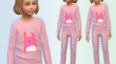 Пижама с кроликом