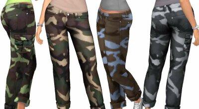 Камуфляжные штаны 20200605