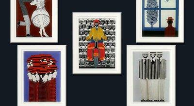 Набор картин греческого художника