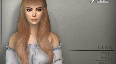 Прическа Lisa style 1