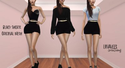 Шорты Black Fashion Vol.1