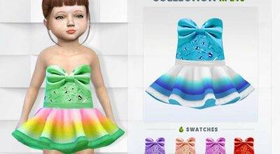 Коллекция платьев для малышей RPL46