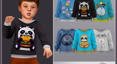 Малышовый свитер RPL80