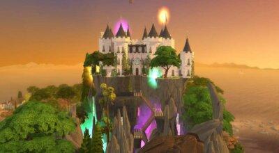 Средневековый магический замок