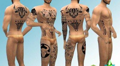 Татуировки тельца