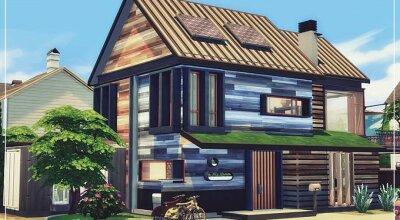 Экологичный домик Fully Eco Estate