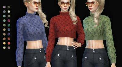 Вязаный свитер Clardyia