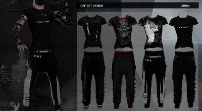Одежда Gen005