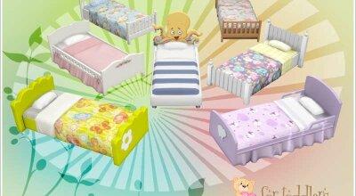Набор детских кроватей