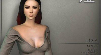 Прическа  Lisa Style 4
